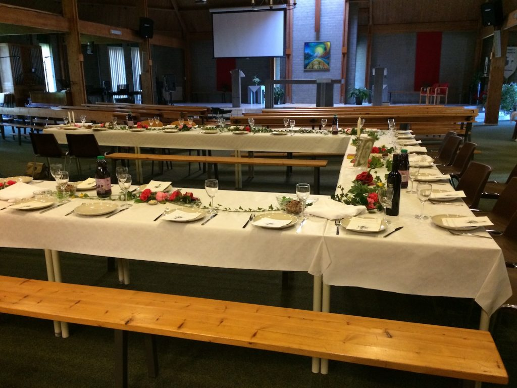 Passover Tables Trinity Church Eindhoven